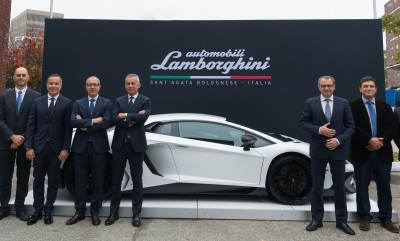 (Lamborghini Photo)