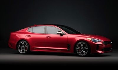 The 2018 Kia Stinger  (Kia Photo)