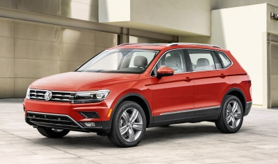 The 2018 LWB Volkswagen Tiguan  (VW Photo)