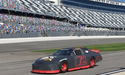 The #02 Our Motorsports entry tested at Daytona last month.
