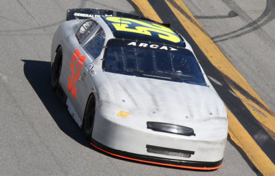 Austin Theriault's #52 testing at Daytona.  (ARCA Photo)