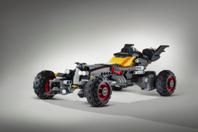 The Lego Batmobile  (General Motors Photo)