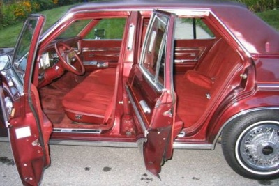 Craigslist Candy - 1978 Lincoln Versailles - Cushy, Red & Rare