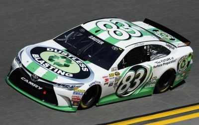 The #83 BK Racing Toyota  (NASCAR Photo)