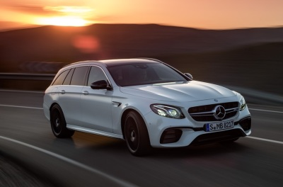 The 2018 Mercedes-Benz E63 AMG Wagon (Mercedes-Benz Photo)