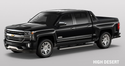 The Chevrolet Silverado High Desert Edition  (General Motors Photo)