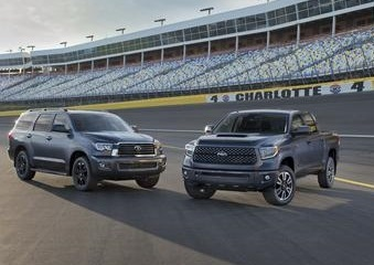 The TRD Tundra and Sequoia models.  (Toyota Photo)