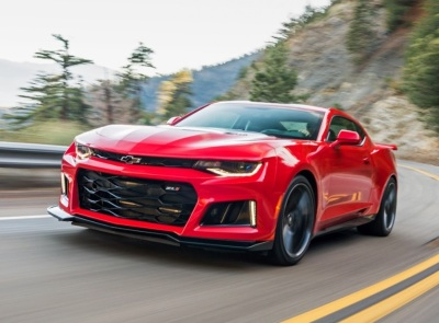 The 2017 Chevrolet Camaro ZL1  (GM Photo)