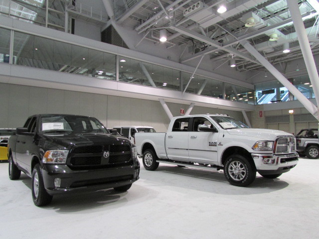 A pair of Ram Trucks  (Mike Twist Photo)