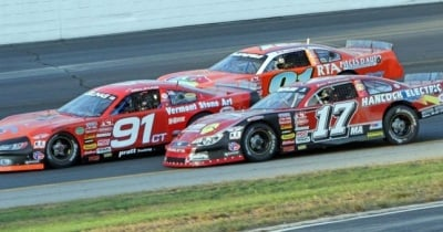 ACT Late Models at NHMS.  (NHMS Photo)