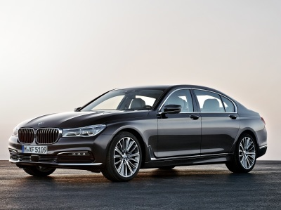 The BMW 7-Series  (BMW Photo)