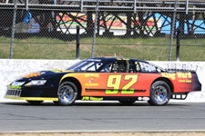 Tom Fearn's #92 Late Model.  (Stafford Motor Speedway Photo)