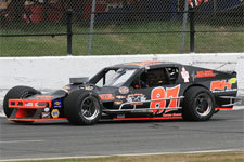 Joey Ferrigno's #97 SK Light Modified.  (Stafford Motor Speedway Photo)