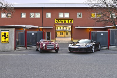 Over 70 years, plenty of emotion has passed through these gates.  (Ferrari Photo)