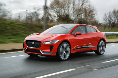 The Jaguar I-PACE  (Jaguar Photo)