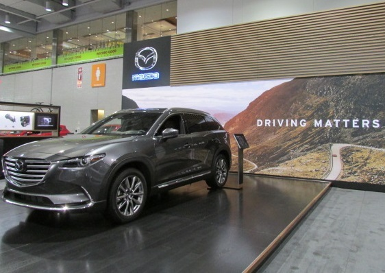 Mazda's flagship crossover - the CX-9.  (Mike Twist Photo)