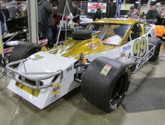The #99 SK Modified that Rowan Pennink will race at Stafford this year.  (Mike Twist Photo)