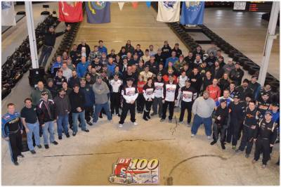 The 2017 DT 100 field of drivers.  (DT 100 Photo)