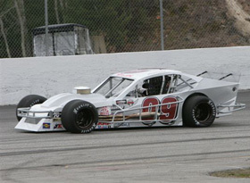 Bobby Grigas, III's #09 Modified from years past.  (Jim Dupont Photo)