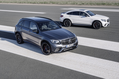 The AMG GLC63 Models.  (Mercedes-Benz Photo)