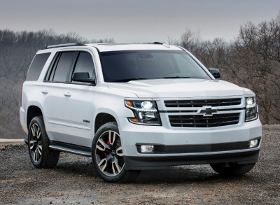 Chevrolet Introduces Rally Sport Suburban and Tahoe