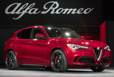 The 2018 Alfa Romeo Stelvio  (FCA Photo)