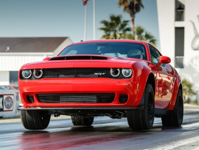 The Dodge Challenger SRT Demon  (FCA Photo)