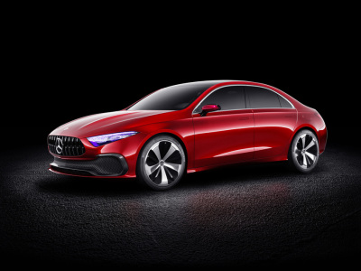 The Mercedes-Benz Concept A  (Mercedes-Benz Photo)