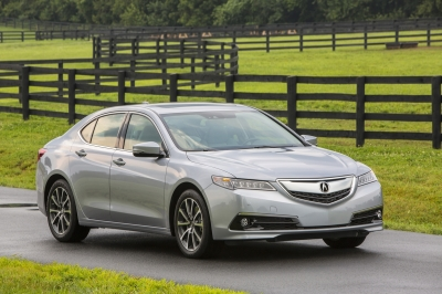 The 2015 Acura TLX  (Honda Motor Company Photo)