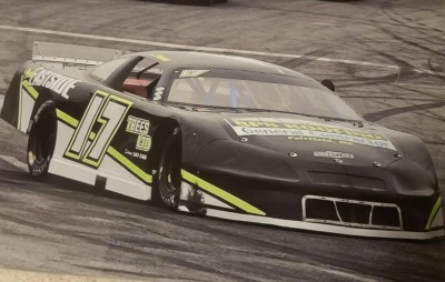 Chris Thorne's #17 Late Model  (Chris Thorne Photo)