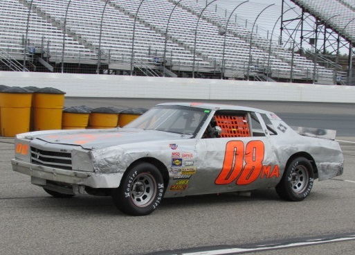 The #08MA Street Stock Monte Carlo of Mike Como, Jr.  (Mike Twist Photo)