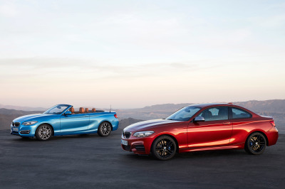 The new BMW 2-Series Coupe and Convertible.  (BMW Photo)