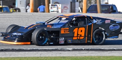 Ben Tinker's #19 PASS Modified  (Oxford Plains Speedway Photo)