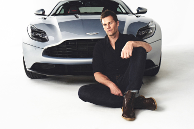 Tom Brady  (Aston Martin Photo)