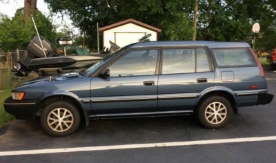 A 1992 Toyota Corolla All Trac Wagon - with a manual!  (Craigslist.com Photo)