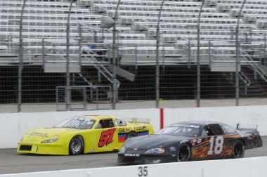 The Granite State Pro Stock Series tests at NHMS earlier this month.  (Mike Twist Photo)