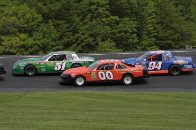 The Flying Tigers at Thunder Road.  (Thunder Road Speedbowl Photo)