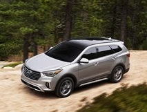 The 2018 Hyundai Santa Fe  (Hyundai Photo)