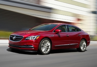 The 2018 Buick LaCrosse  (General Motors Photo)