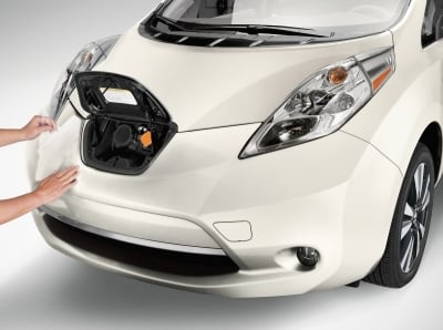 The 2017 Nissan Leaf  (Nissan Photo)