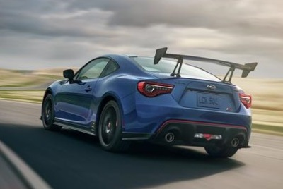 The Subaru BRZ tS  (Subaru of America Photo)