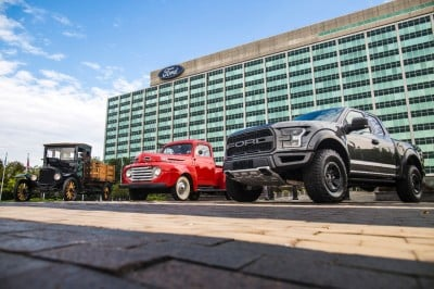 100 years of Ford Trucks.  (FoMoCo Photo)