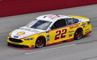 Joey Logano's #22 at Darlington.  (NASCAR Photo)
