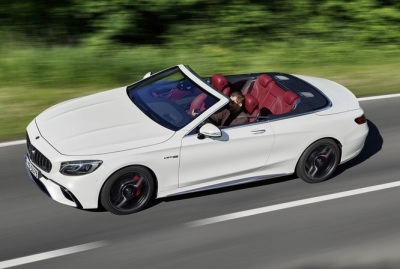 The Mercedes-Benz S-Class Convertible.  (MB USA Photo)