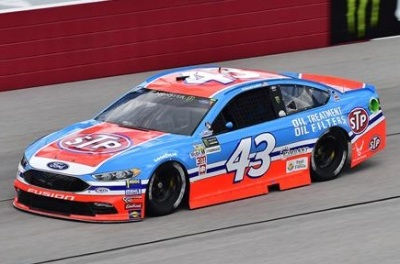 The Petty #43 sporting STP colors this year at Darlington.  (NASCAR Photo)