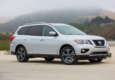 The 2018 Nissan Pathfinder.  (Nissan Photo)