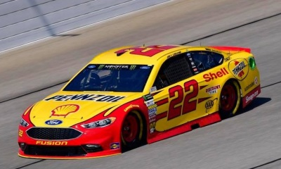The #22 Ford of Joey Logano.  (Joey Logano Facebook Photo)