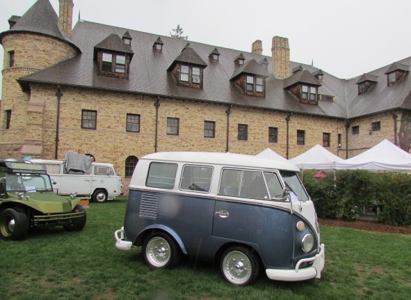 A small Volkswagen at a big show.  (Mike Twist Photo)