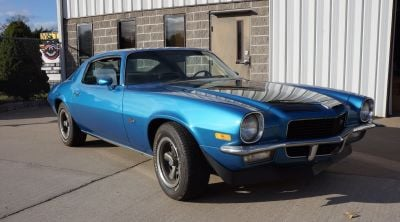 Ted Christopher's 1970 Chevrolet Camaro Z-28.  (eBay Motors Photo)