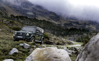 The new Mercedes-Benz G-Class  (MB USA Photo)